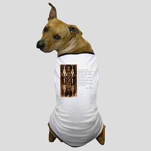 Isaiah 50-6-7 - Latin Dog T-Shirt