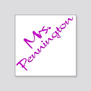 "mrsp10x10 Square Sticker 3"" x 3"""