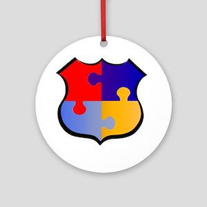 DisabledCops.Org Ornament (Round)