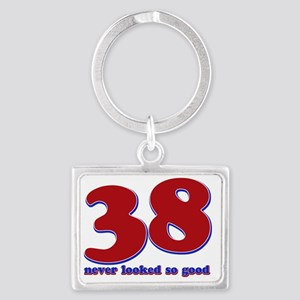 38_neverlooked Landscape Keychain