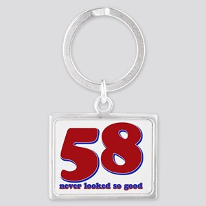 58_neverlooked Landscape Keychain