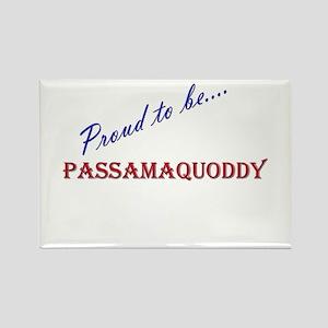 Passamaquoddy Rectangle Magnet