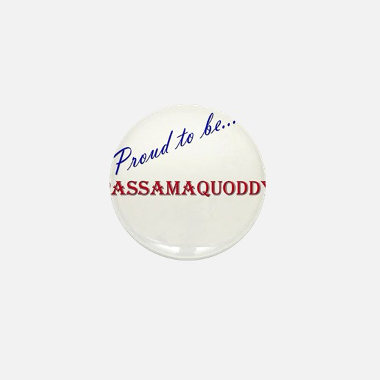 Passamaquoddy Mini Button