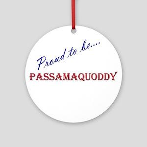 Passamaquoddy Ornament (Round)