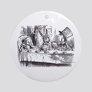 Mad Tea-Party Ornament (Round)