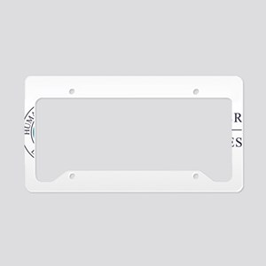 CCBS License Plate Holder