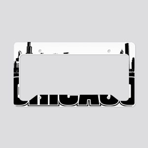 Chicago Skyline License Plate Holder