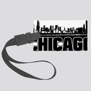 Chicago Skyline Large Luggage Tag