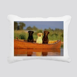 RAIN LABS pan print Rectangular Canvas Pillow