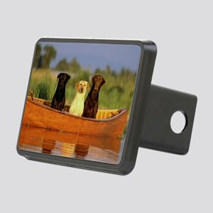 RAIN LABS pan print Rectangular Hitch Cover