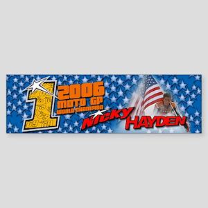 Nicky Hayden Bumper Sticker