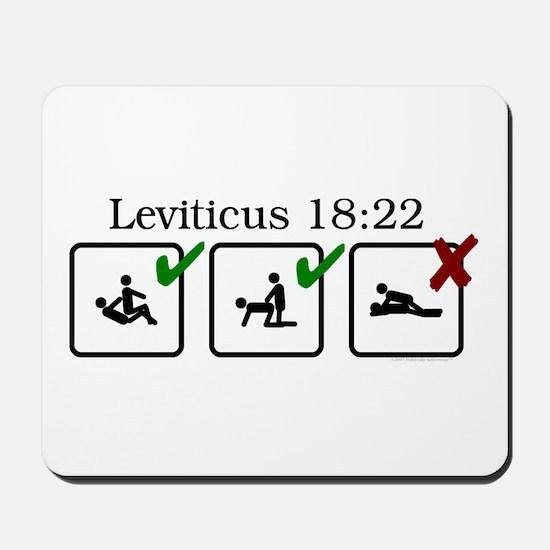 Lev. 18:22 Mousepad