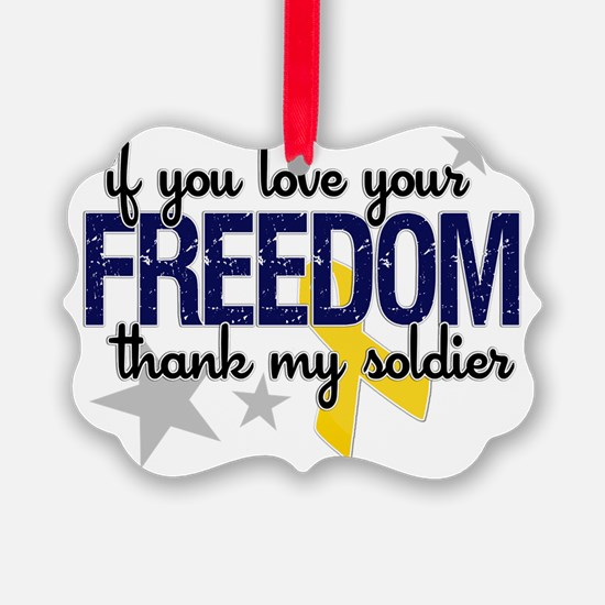 Freedom Soldier Ornament