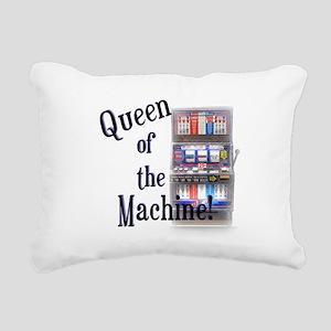 Queen of The Machine Rectangular Canvas Pillow