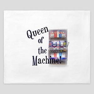 Queen of The Machine King Duvet