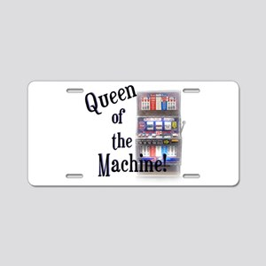 Queen of The Machine Aluminum License Plate