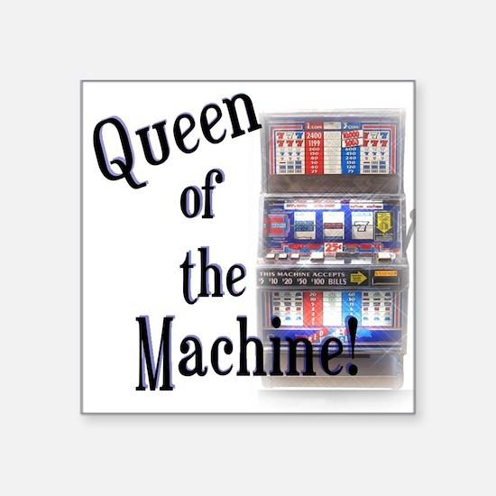 Queen of The Machine Sticker