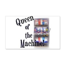 Queen of The Machine Wall Decal