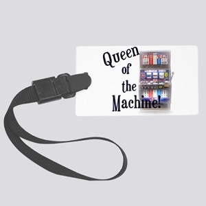 Queen of The Machine Luggage Tag