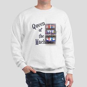 Queen of The Machine Sweatshirt