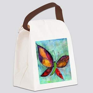 Butterfly Blanket Canvas Lunch Bag