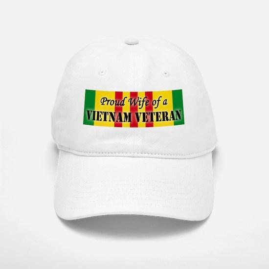 Vietnam Vet Wife Baseball Baseball Cap