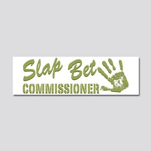 SLAP BET GREEN Car Magnet 10 x 3