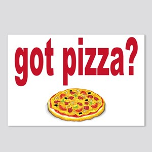 got pizza Postcards (Package of 8)