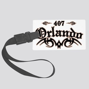 Orlando 407 Large Luggage Tag