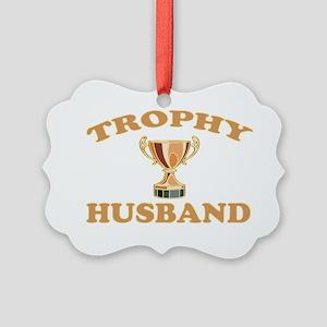 TROPHYHUSBAND Picture Ornament