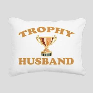 TROPHYHUSBAND Rectangular Canvas Pillow
