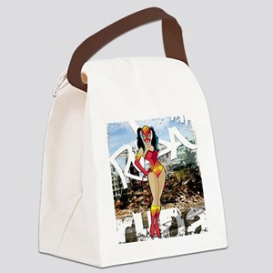 demonica_mrgd Canvas Lunch Bag