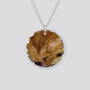 Tigers Aura Necklace Circle Charm