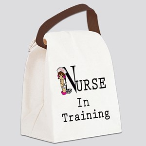 Nurse In Training copy Canvas Lunch Bag