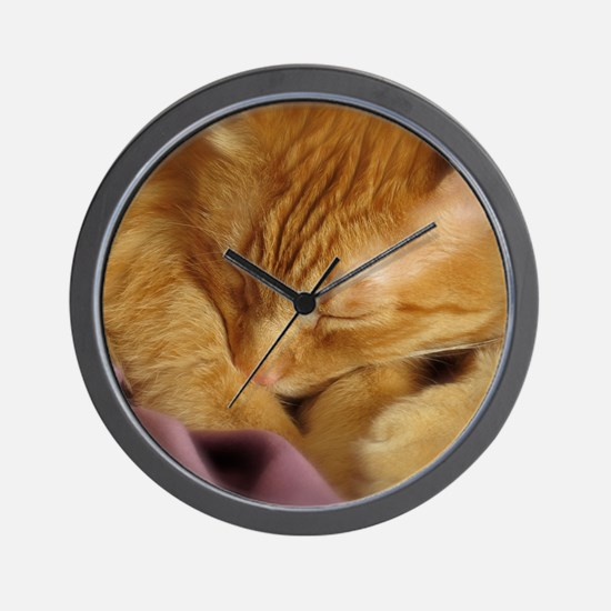 Tigers Aura Wall Clock