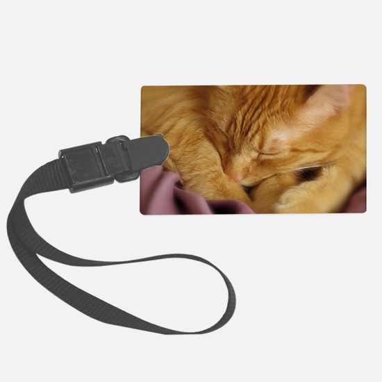 Tigers Aura Luggage Tag