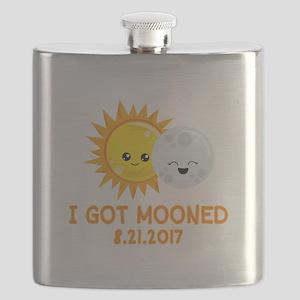 Funny Solar Eclipse | I Got Mooned Flask