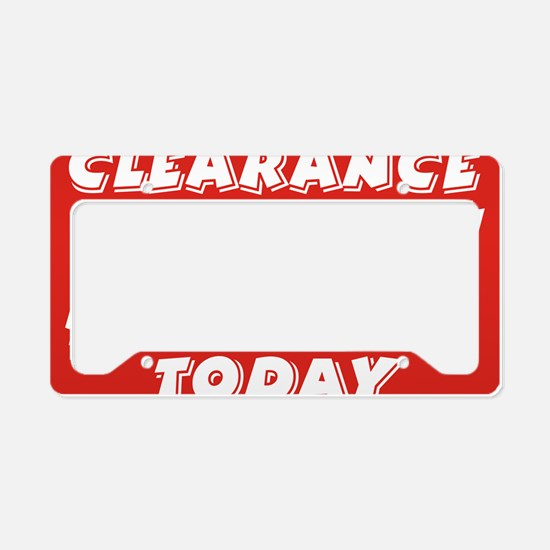clearance today License Plate Holder