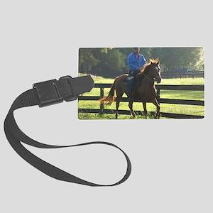 IRON HORSE PASO FINOS STARDAVID Large Luggage Tag