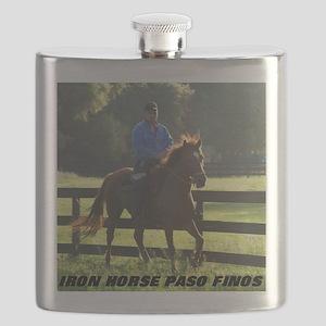 IRON HORSE PASO FINOS STARDAVID Flask
