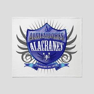 AlmendaresShield_Dark Throw Blanket