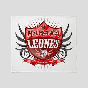 HabanaShield_Dark Throw Blanket