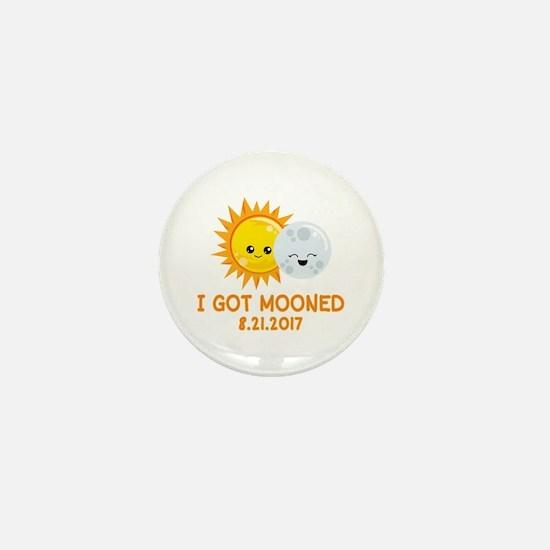 Funny Solar Eclipse | I Got Mooned Mini Button