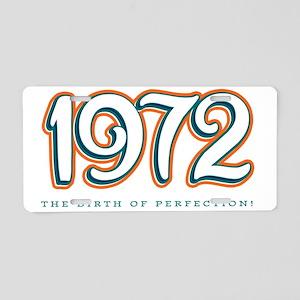 1972_Light Aluminum License Plate