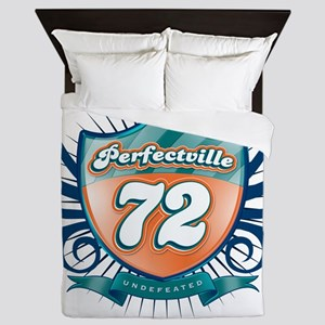 Perfecville72_Dark Queen Duvet