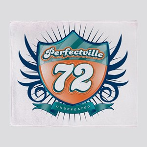 Perfecville72_Dark Throw Blanket