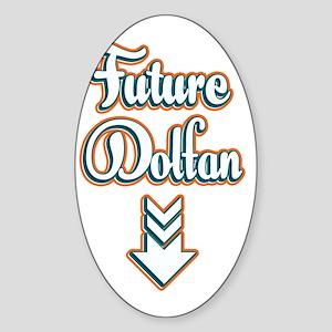 FutureDolfan_Light Sticker (Oval)