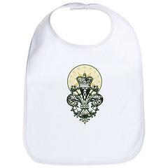 Saint Icon Fleur de lis Bib