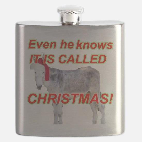 CHRISTMASDONKEY Flask