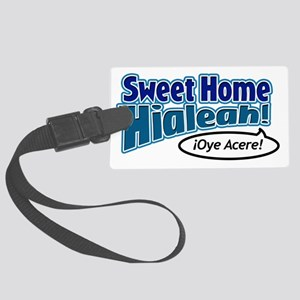 SweetHomeHialeah_light Large Luggage Tag